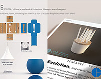 """EVOLUTION"" new kitchen tools collection"