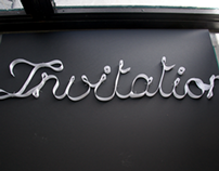 Invitation for Tiffany & Co.