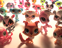 Littlest Pet Shop Pets redesign for Hasbro