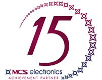 MCS Electronics LLC - 15th Anniversary Logo