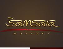 Samsara Gallery - Concept Logo Design