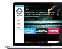 Market Gravity - Corporate identity and Web design