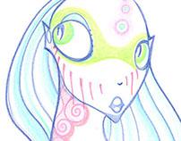 Creatures in pastels
