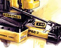 Enerpac Hydraulic Tools Illustration