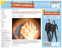 Banner Design: Portlandia, Season One