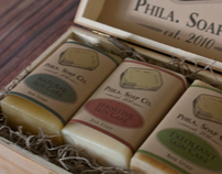 Phila. Soap Co. Packaging