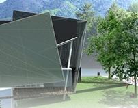 Library - Auditorium alternate concept