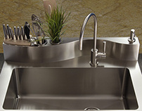 401 Stainless sink