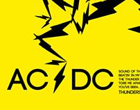 Tipografía AC/DC
