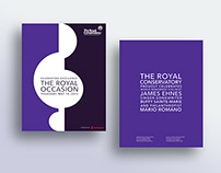 The Royal Conservatory | Event Identity