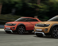 Range Rover Coupe Concept