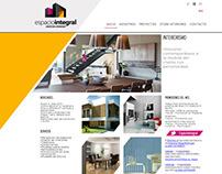 Espacio Integral / Web Design