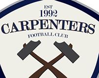 Carpenters football club  brand