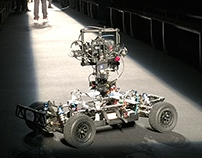 Lomo camera vehicle works the runway