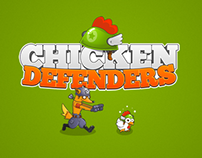 Chicken Defenders - Game Concept
