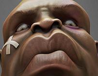 "UFC Anderson ""The Spider"" Silva - Caricature"