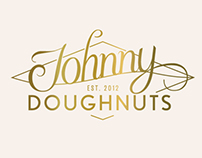 Johnny Doughnuts Logo