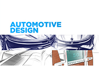 Automotive design portfolio