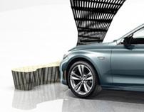 BMW Rattan installation