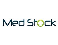 MedStock LLC logo development