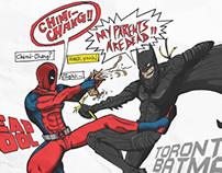 SUPER HERO FOOD FIGHT