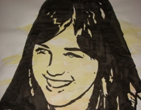 Rall Daro - Watercolor - Black ink - Aquerela e Nanquim