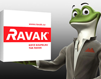 TV spot for RAVAK company