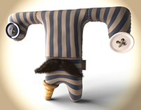Mascot characters design
