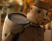 Kozel - Story of brewery, animation screenshots