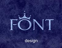 MODERN KING (typeface design)