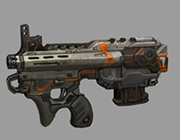 Weapon Concept work