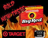 Big Red Ad Design  Set