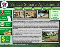 Village Square Web Site Redesign