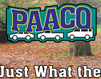 Paaco Used Car Billboard