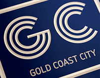 Gold Coast CIty Rebrand Concept #1