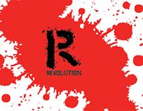 Revolution wine label