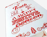 Christmas card and gifts - Truth Advertising