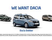 We Want Dacia