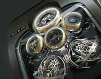 Twin Force Gyrotourbillon for Rolls-Royce