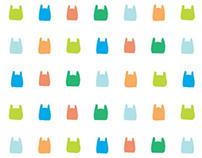reusable tote bag graphic