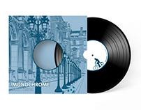 MONOCHROME — Pochette du vinyle de Yann Tiersen