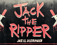 Jack the ripper infographic.