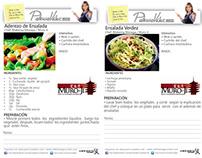 Recetas y programación clases de cocina Costa Rica