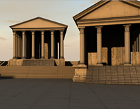 Sanctuary of Apollo, Hierapolis - 3D PROJECT
