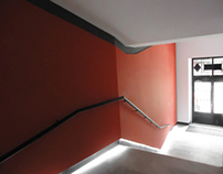 HALL REMODELING IN RED