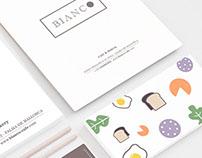 Bianco Cafè & Bakery Identity