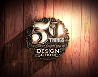 '50 Things They Never Taught You At Design School'