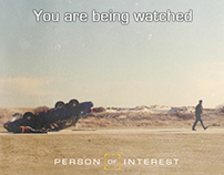 Person of Interest appreciation poster design