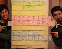 """Frigo-Tetris - Contest Post-it """"Colour my life"""""""