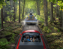 Road in the Forest for VTB24 bank